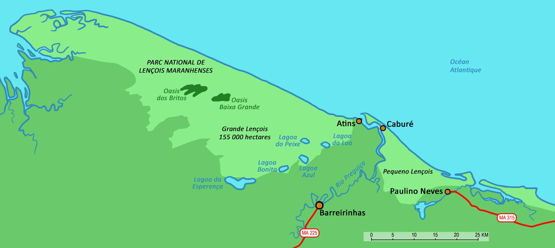 Sao Luis et les Lenois Maranhenses merveilles du Nordeste